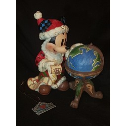 Disney Traditions Season's Greetings Around the World Mickey Mouse