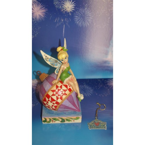 Disney Traditions Christmas Tinker Bell Having a Ball