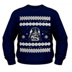 Star Wars Christmas Jumper Darth Vader