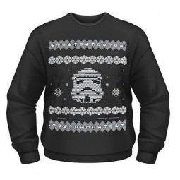 Star Wars Christmas Jumper Stormtrooper