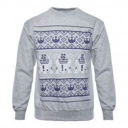 Star Wars Christmas Jumper R2 D2
