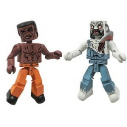 Walking Dead Series 3 Minimates Tyress & Former Zombie