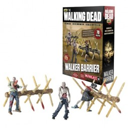 Walking Dead TV Series Construction Set Walker Barrier