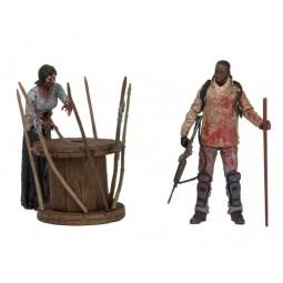 Walking Dead TV Series Morgan & Walker Set